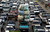 A traffic jam, one of five key issues Egyptian President Mohamed Mursi outlined in his Al Nhada (Renaissance) project, is pictured in old Cairo October 8, 2012, a day after his 100th day in power. REUTERS/Amr Abdallah Dalsh