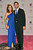 Satcha Pretto and Aaron Butler arrive at the 25th Anniversary Of Univision's 