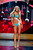 Miss Poland Marcelina Zawadzka competes in her Kooey Australia swimwear and Chinese Laundry shoes during the Swimsuit Competition of the 2012 Miss Universe Presentation Show at PH Live in Las Vegas, Nevada December 13, 2012. The 89 Miss Universe Contestants will compete for the Diamond Nexus Crown on December 19, 2012. REUTERS/Darren Decker/Miss Universe Organization/Handout