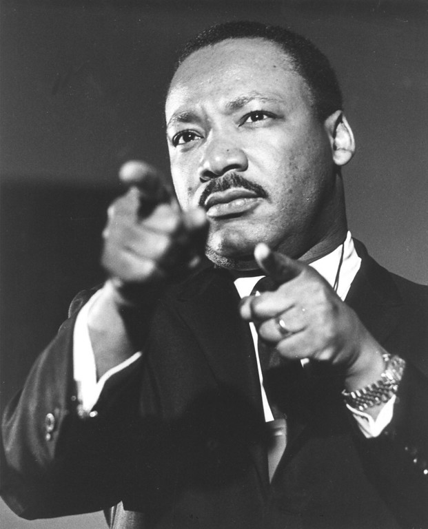. The Rev. Martin Luther King Jr., is seen in this undated file photo. Martin Luther King Jr. was  assassinated on April 4, 1968 in Memphis.  (AP Photo/file)