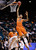 Oregon State's Eric Moreland (15) dunks the ball against Colorado during the first half of a Pac-12 Conference tournament NCAA college basketball game, Wednesday, March 13, 2013, in Las Vegas. (AP Photo/Julie Jacobson)