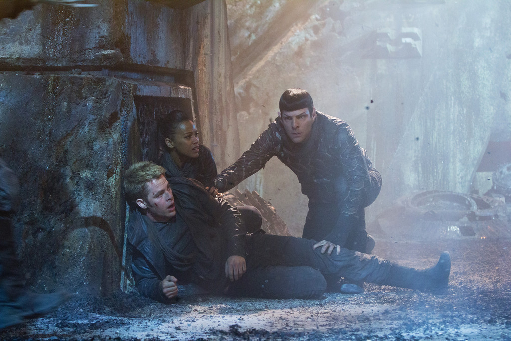 ". 2014 Academy Award Nominee for Best Visual Effects: ""Star Trek Into Darkness.\"" (AP Photo/Paramount Pictures, Zade Rosenthal)"