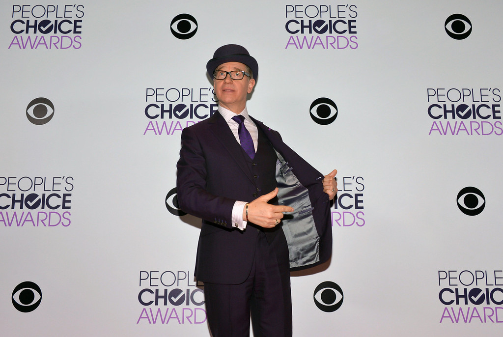 Description of . Paul Feig poses in the press room at the 40th annual People's Choice Awards at Nokia Theatre L.A. Live on Wednesday, Jan. 8, 2014, in Los Angeles. (Photo by John Shearer/Invision/AP)