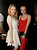 Actresses Claudia Lee (L) and Francesca Eastwood pose at the after party for the premiere of Open Road Films'