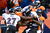 Baltimore Ravens quarterback Joe Flacco (5) is sacked in the third quarter for a loss of 8 yards. The Denver Broncos vs Baltimore Ravens AFC Divisional playoff game at Sports Authority Field Saturday January 12, 2013. (Photo by AAron  Ontiveroz,/The Denver Post)