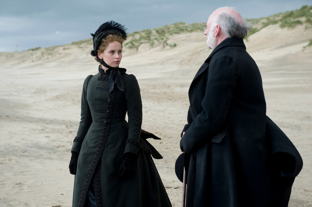 ". 2014 Academy Award Nominee for Best Costume Design: ""The Invisible Woman.\"" (Photo by David Appleby, Provided by Sony Pictures Classics)"