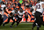 Baltimore Ravens cornerback Corey Graham (24) pulls in an interception in the first quarter. The Denver Broncos vs Baltimore Ravens AFC Divisional playoff game at Sports Authority Field Saturday January 12, 2013. (Photo by Joe Amon,/The Denver Post)