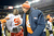Denver Broncos quarterback Peyton Manning (18) shakes hands with Kansas City Chiefs nose tackle Jerrell Powe (95) at the end of the game as the Denver Broncos took on the Kansas City Chiefs at Sports Authority Field at Mile High in Denver, Colorado on December 30, 2012. Joe Amon, The Denver Post