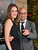 Actor Stanley Tucci (R) and Felicity Blunt attend the premiere of New Line Cinema's 