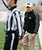 Ohio head coach Frank Solich, right, takes issue with an official on what he considered a bad call during in the second quarter of the Independence Bowl NCAA college football game against Louisiana-Monroe in Shreveport, La., Friday, Dec. 28, 2012. (AP Photo/Charles A. Smith)