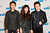 DJ Zedd, singer Louisa Rose Allen aka Foxes, and singer Matthew Koma attend KIIS FM's 2012 Jingle Ball at Nokia Theatre L.A. Live on December 3, 2012 in Los Angeles, California.  (Photo by Imeh Akpanudosen/Getty Images)