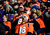 Broncos fans cheer in the first quarter. The Denver Broncos vs Baltimore Ravens AFC Divisional playoff game at Sports Authority Field Saturday January 12, 2013. (Photo by AAron  Ontiveroz,/The Denver Post)