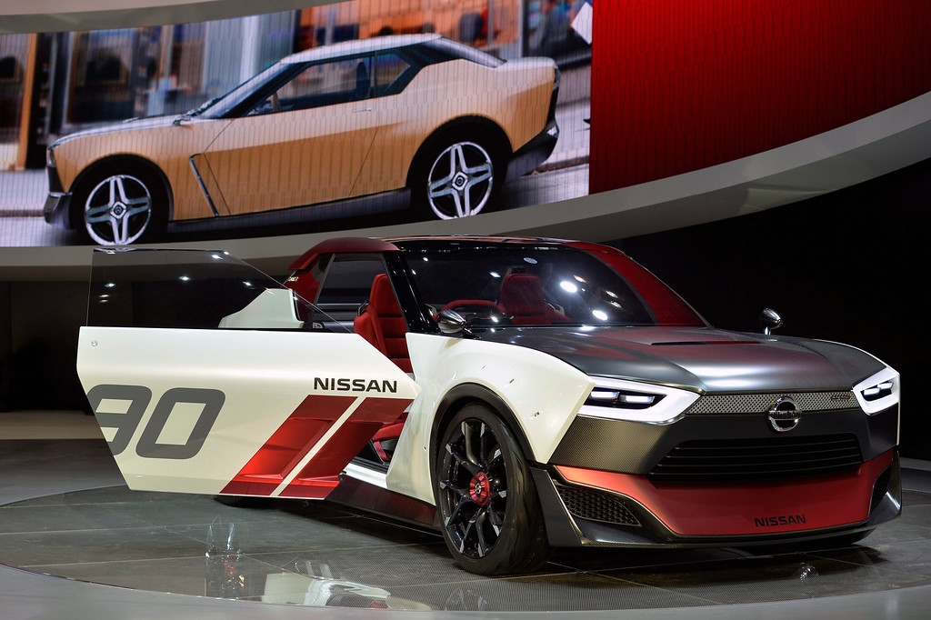 Description of . Nissan Motor Co. IDx NISMO concept car is displayed at the 43rd Tokyo Motor Show 2013 in Tokyo, Japan, 20 November 2013. The event will be open to the public from 22 November to 01 December 2013.  EPA/FRANCK ROBICHON