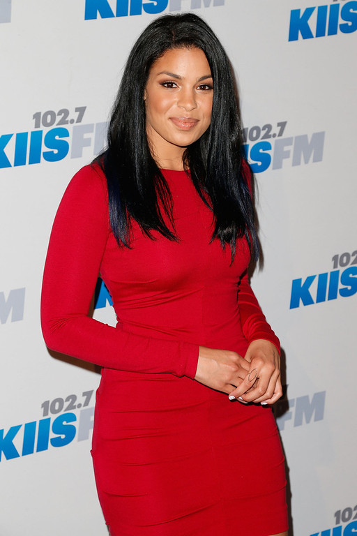 Description of . Singer Jordin Sparks attends KIIS FM's 2012 Jingle Ball at Nokia Theatre L.A. Live on December 3, 2012 in Los Angeles, California.  (Photo by Imeh Akpanudosen/Getty Images)