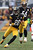 Cortez Allen #28 of the Pittsburgh Steelers returns a fumble during the game against the Cleveland Browns at Heinz Field on December 30, 2012 in Pittsburgh, Pennsylvania.  (Photo by Karl Walter/Getty Images)