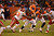 Denver Broncos quarterback Brock Osweiler (6) hands off to Denver Broncos running back Jacob Hester (40) in the fourth quarter as the Denver Broncos took on the Kansas City Chiefs at Sports Authority Field at Mile High in Denver, Colorado on December 30, 2012. John Leyba, The Denver Post