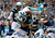 Mike Tolbert #35 of the Carolina Panthers dives for a touchdown against the San Diego Chargers on December 16, 2012 at Qualcomm Stadium in San Diego, California. (Photo by Donald Miralle/Getty Images)