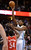 DENVER, CO. - JANUARY 30: Denver Nuggets small forward Kenneth Faried (35) takes a shot over Houston Rockets power forward Patrick Patterson (54) during the first quarter January 30, 2013 at Pepsi Center. The Denver Nuggets take on the Houston Rockets in NBA action. (Photo By John Leyba/The Denver Post)