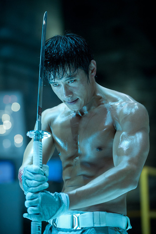 Description of . Byung-Hun Lee plays Storm Shadow in G.I. JOE: RETALIATION, from Paramount Pictures, MGM, and Skydance Productions. (Jaimie Trueblood/Paramount Pictures)