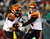 Andy Dalton #14 of the Cincinnati Bengals hands the ball off to  BenJarvus Green-Ellis #42 in the first quarter against the Philadelphia Eagles on December 13, 2012 at Lincoln Financial Field in Philadelphia, Pennsylvania.  (Photo by Elsa/Getty Images)