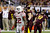 Central Michigan kicker David Harman (96) watches as his 50-yard field goal clears the post during the second quarter of the Little Caesars Pizza Bowl NCAA college football game against Western Kentucky at Ford Field in Detroit, Wednesday, Dec. 26, 2012. Western Kentucky defensive back Tyree Robinson (22) watches the play. (AP Photo/Carlos Osorio)