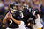 Quarterback Joe Flacco #5 of the Baltimore Ravens drops back to pass against the Pittsburgh Steelers during the first half at M&T Bank Stadium on December 2, 2012 in Baltimore, Maryland.  (Photo by Rob Carr/Getty Images)