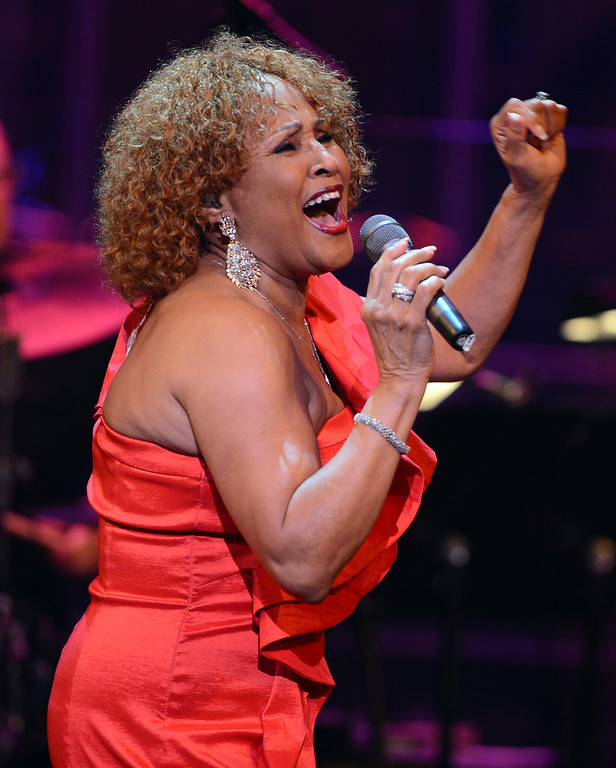 Description of . Singer Darlene Love  performs onstage during a celebration of Carole King and her music to benefit Paul Newman's The Painted Turtle Camp at the Dolby Theatre on December 4, 2012 in Hollywood, California.  (Photo by Michael Buckner/Getty Images for The Painted Turtle Camp)