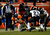 Denver Broncos tight end Joel Dreessen (81) goes down in the second half.  The Denver Broncos vs Baltimore Ravens AFC Divisional playoff game at Sports Authority Field Saturday January 12, 2013. (Photo by Joe Amon,/The Denver Post)