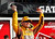 Kyle Busch celebrates in victory lane atop his number 18 Toyota after winning the second NASCAR Sprint Cup Series Budweiser Duel at the Daytona International Speedway in Daytona Beach, Florida February 21, 2013. The two Duel races determine starting positions for the field for the Daytona 500 NASCAR Sprint Cup race, scheduled for February 24.  REUTERS/Joe Skipper