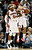 Atlanta Hawks' Devin Harris (34) and Josh Smith (5) celebrate in the final seconds of an NBA basketball game against the Denver Nuggets, Wednesday, Dec. 5, 2012, in Atlanta. Atlanta won 108-104. (AP Photo/John Bazemore)