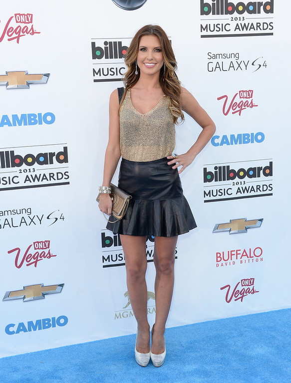 . TV personality Audrina Patridge arrives at the 2013 Billboard Music Awards at the MGM Grand Garden Arena on May 19, 2013 in Las Vegas, Nevada.  (Photo by Jason Merritt/Getty Images)
