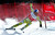 World Cup overall points leader Aksel Lund Svindal of Norway skis past a gate in the men's World Cup downhill ski race in Beaver Creek, Colorado, November 30, 2012. Svindal finished second in the race. REUTERS/Mike Segar