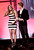 Presenters Justine Ezarik (iJustine) and Ryan Kwanten speak onstage at the 3rd Annual Streamy Awards at Hollywood Palladium on February 17, 2013 in Hollywood, California.  (Photo by Frederick M. Brown/Getty Images)