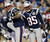 New England Patriots wide receiver Brandon Lloyd (85) celebrates his touchdown pass with tight end Aaron Hernandez (81) during the first quarter of an NFL football game against the Houston Texans in Foxborough, Mass., Monday, Dec. 10, 2012. (AP Photo/Elise Amendola)