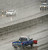 DENVER, CO. - MARCH 9TH: Vehicles make their way through steady snowfall on I-25 near the University of Denver Saturday morning, March 9th, 2013(Photo By Andy Cross/The Denver Post)
