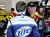 DAYTONA BEACH, FL - FEBRUARY 20:  Clint Bowyer (R), driver of the #15 5-hour ENERGY Toyota, talks with Brad Keselowski (L), driver of the #2 Miller Lite Ford, during practice for the NASCAR Sprint Cup Series Daytona 500 at Daytona International Speedway on February 20, 2013 in Daytona Beach, Florida.  (Photo by Sam Greenwood/Getty Images)