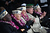 Pearl Harbor survivors attend a ceremony commemorating the 71st anniversary of the Japanese attacks on Pearl Harbor on December 7, 2012 in New York City. World War II veterans from the New York metropolitan area participated in a wreath-laying ceremony next to the Intrepid Sea, Air and Space Museum, which was damaged in Hurricane Sandy and is undergoing repairs.  (Photo by John Moore/Getty Images)