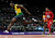 n this Aug. 5, 2012 file photo, Jamaica's Usain Bolt crosses the finish line to win gold in the men's 100-meter final during the athletics in the Olympic Stadium at the 2012 Summer Olympics in London. (AP Photo/David J. Phillip, File)