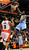 Denver Nuggets Kenneth Faried (R) dunks over Toronto Raptors Kyle Lowry during the second half of their NBA basketball game in Toronto February 12, 2013.  REUTERS/Jon Blacker