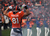 Denver Broncos tight end Joel Dreessen (81) runs out of the tunnel before the start of the game. The Denver Broncos vs Baltimore Ravens AFC Divisional playoff game at Sports Authority Field Saturday January 12, 2013. (Photo by Joe Amon,/The Denver Post)