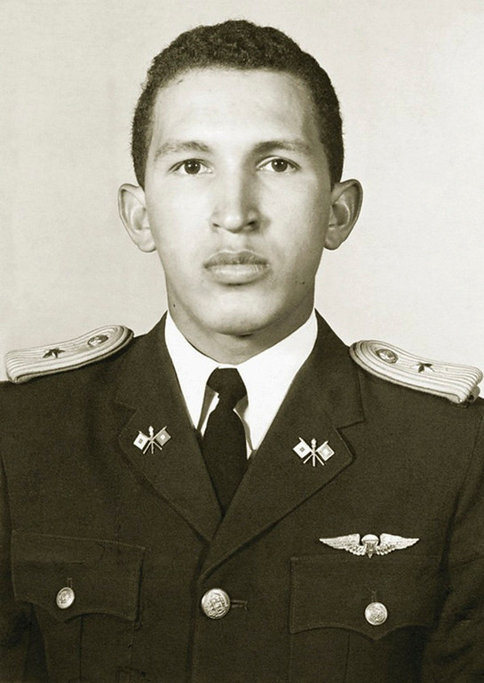 Description of . Venezuela's President Hugo Chavez is pictured as second lieutenant at the Military Academy in Caracas in this undated photo provided by Venezuela's Ministry of Information and Communication. REUTERS/Ministry of Information and Communication/Handout