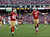 San Francisco 49ers quarterback Colin Kaepernick, right, celebrates after scoring a touchdown on a 50-yard run as San Francisco 49ers tight end Delanie Walker, left, looks on during the fourth quarter of an NFL football game in San Francisco, Sunday, Dec. 9, 2012. San Francisco won the game 27-13. (AP Photo/Marcio Jose Sanchez)