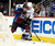 DENVER, CO. - FEBRUARY 06: Paul Stastny (26) of the Colorado Avalanche pins Francois Beauchemin (23) of the Anaheim Ducks agians the boards during the first period February 6, 2013 at Pepsi Center. The Colorado Avalanche take on the Anaheim Ducks during NHL action. (Photo By John Leyba / The Denver Post)