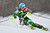 Tanja Poutiainen of Finland competes during first run of the FIS women's World Cup slalom in Maribor on January 27, 2013.     Jure Makovec/AFP/Getty Images