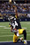 Pittsburgh Steelers wide receiver Antonio Brown (84) celebrates his touchdown against the Dallas Cowboys during the second half of an NFL football game Sunday, Dec. 16, 2012 in Arlington, Texas. (AP Photo/LM Otero)