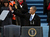 U.S. President Barack Obama waves before speaking during the presidential inauguration on the West Front of the U.S. Capitol January 21, 2013 in Washington, DC.   Barack Obama was re-elected for a second term as President of the United States.  (Photo by Justin Sullivan/Getty Images)