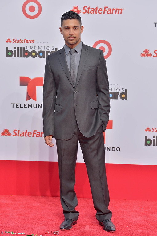 Description of . MIAMI, FL - APRIL 25:  Wilmer Valderrama arrives at Billboard Latin Music Awards 2013 at Bank United Center on April 25, 2013 in Miami, Florida.  (Photo by Gustavo Caballero/Getty Images)