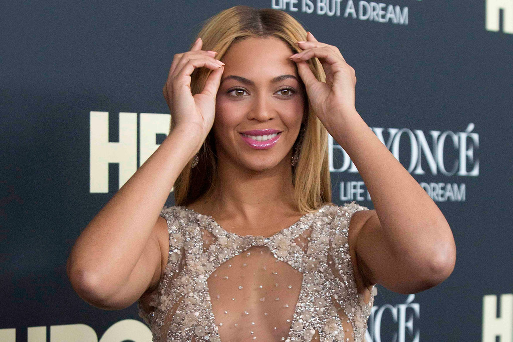 Description of . Singer Beyonce attends HBO's New York premiere of her documentary