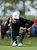 Nick Watney lines up a putt on the sixth hole during the third round of the Farmers Insurance Open on the South Course at Torrey Pines Golf Course on January 27, 2013 in La Jolla, California.  (Photo by Stephen Dunn/Getty Images)