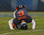 Jay Cutler #6 of the Chicago Bears tries to get up after being sacked during a game against the Green Bay Packers at Soldier Field on December 16, 2012 in Chicago, Illinois. The Packers defeated the Bears 21-13. (Photo by Jonathan Daniel/Getty Images)